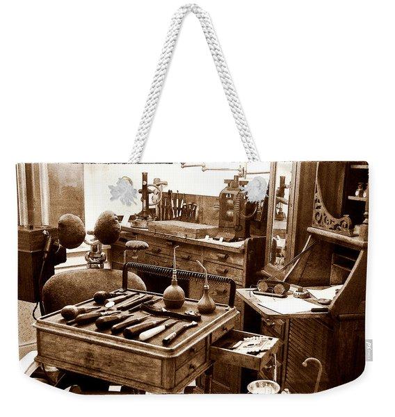 Old Dentistry Weekender Tote Bag