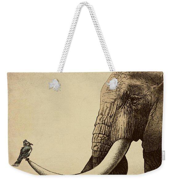 Old Friend Weekender Tote Bag