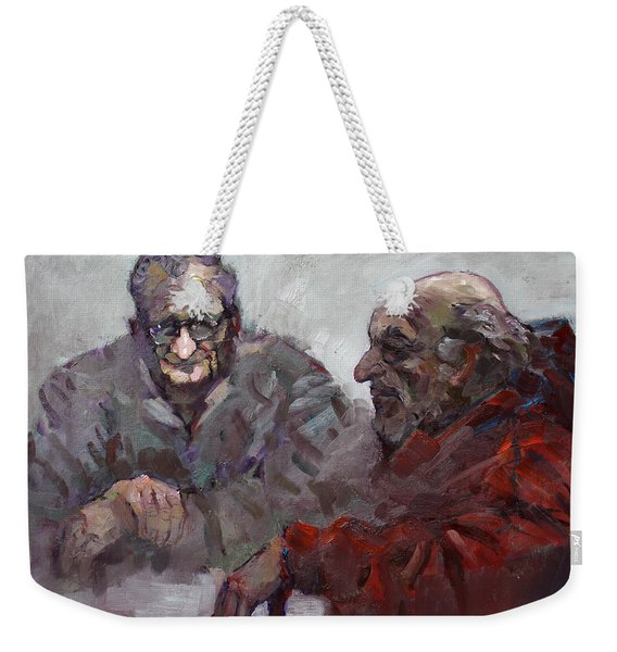 Old Friends Weekender Tote Bag