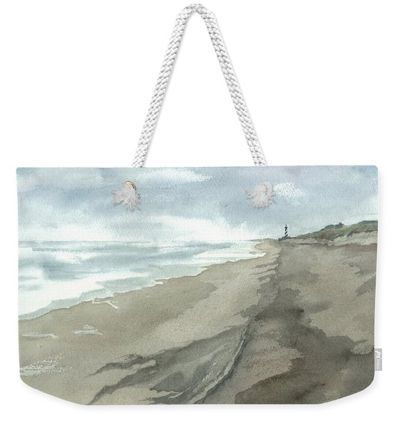 Old Hatteras Light Weekender Tote Bag