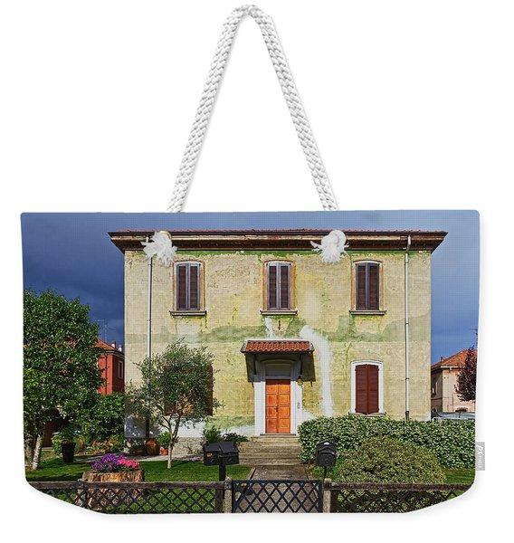 Old House In Crespi D'adda Weekender Tote Bag