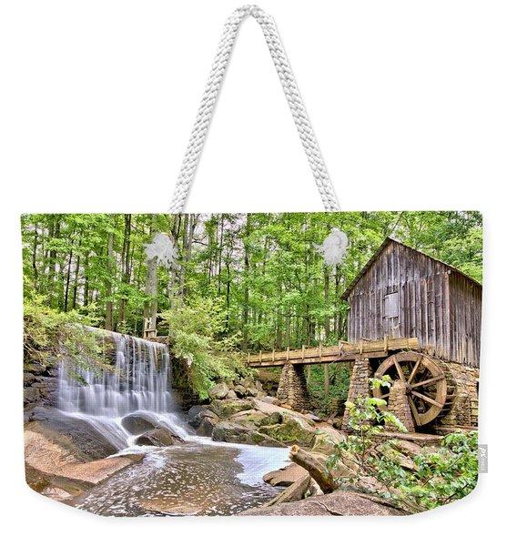 Old Lefler Grist Mill Weekender Tote Bag
