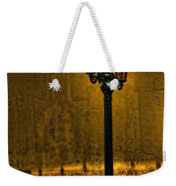 Old Lima Street Lamp Weekender Tote Bag