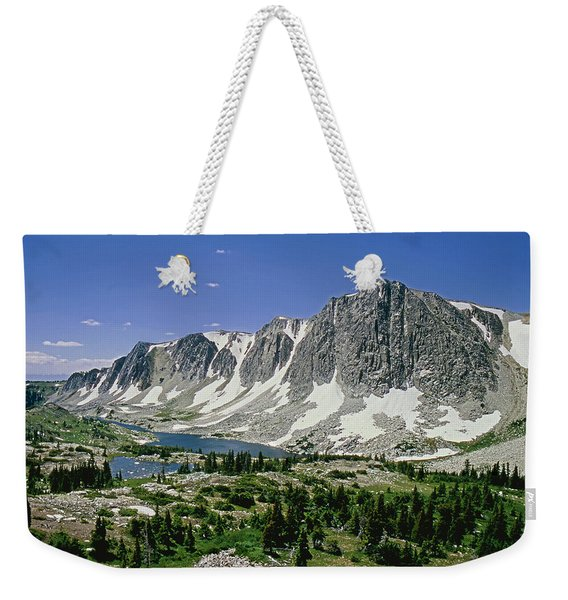 M-09702-old Main Peak, Wy Weekender Tote Bag