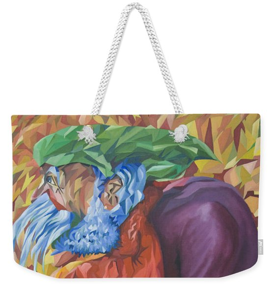 Old Man Collecting Sticks - But Not On The Sabbath Weekender Tote Bag