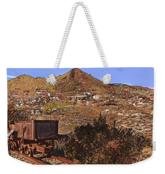 Old Mining Town No.24 Weekender Tote Bag