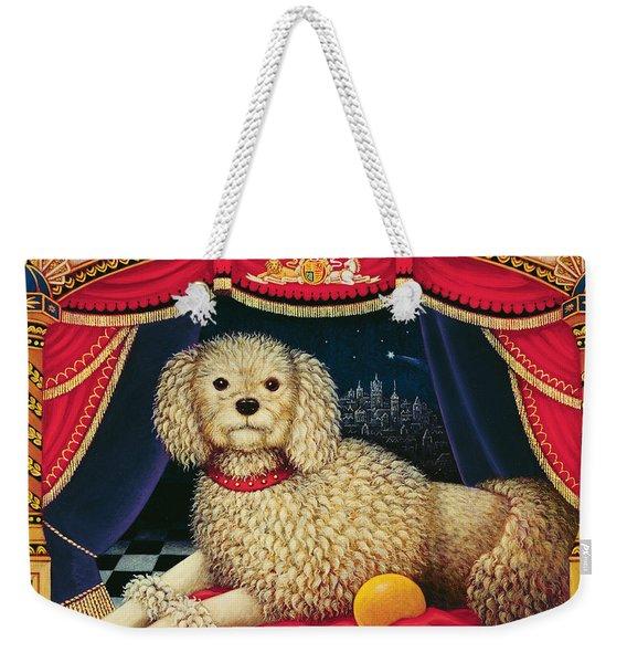 Old Mother Hubbards Wonderful Dog Weekender Tote Bag