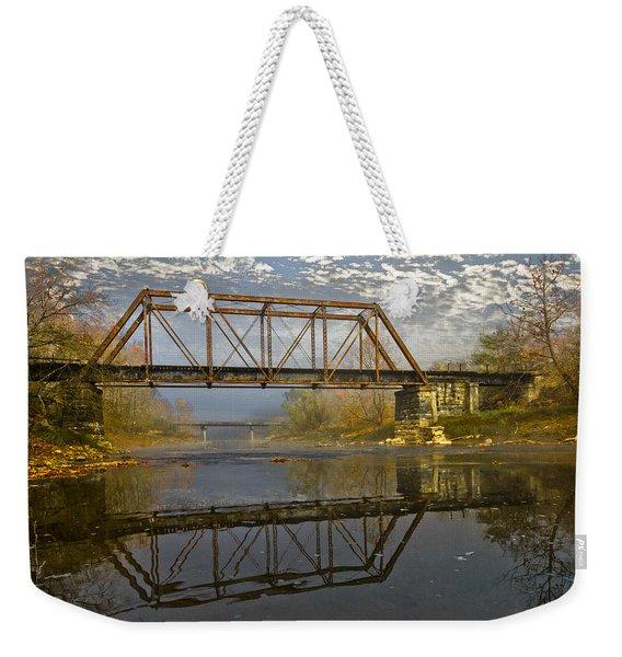 Old Murphy Railroad Trestle Weekender Tote Bag
