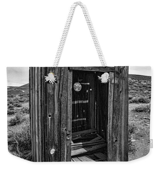 Old Outhouse Weekender Tote Bag