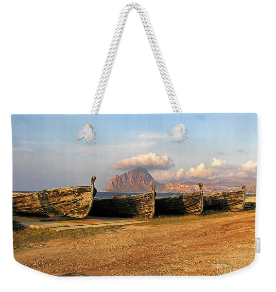 Aquatic Dream Of Sicily Weekender Tote Bag