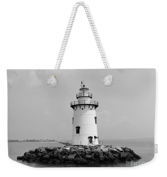 Old Saybrook Connecticut Lighthouse Weekender Tote Bag