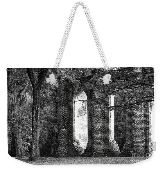 Old Sheldon Church Side View Weekender Tote Bag