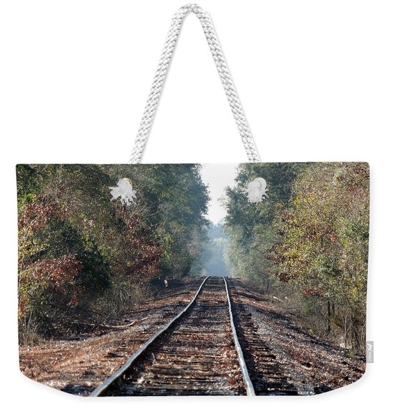 Old Southern Tracks Weekender Tote Bag