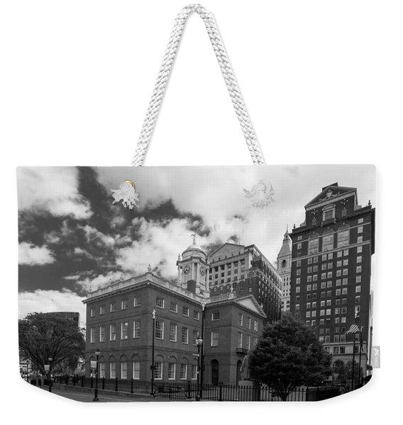 Old State House 15568b Weekender Tote Bag