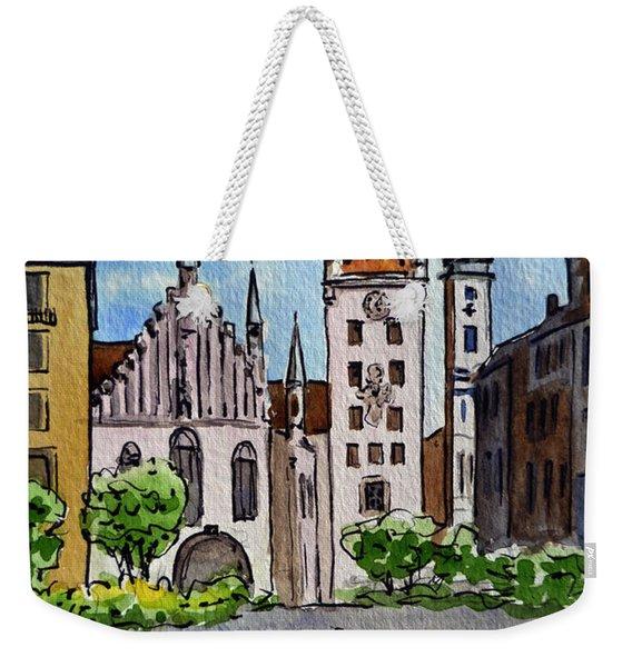 Old Town Hall Munich Germany Weekender Tote Bag