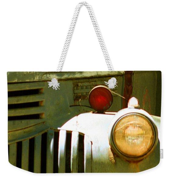 Old Truck Abstract Weekender Tote Bag