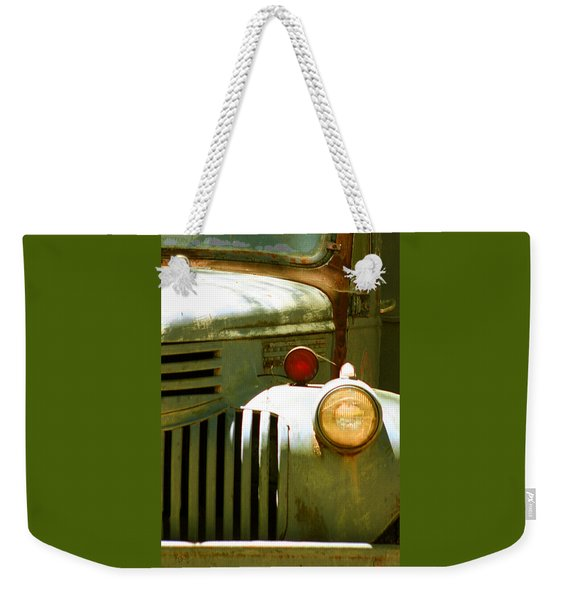 Old Truck Abstract Weekender Tote Bag