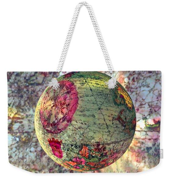 Old World Poppling Weekender Tote Bag