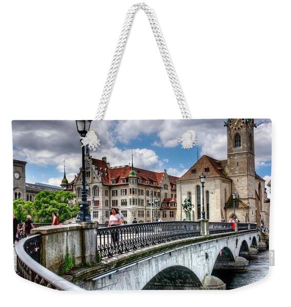 Old Zurich Weekender Tote Bag