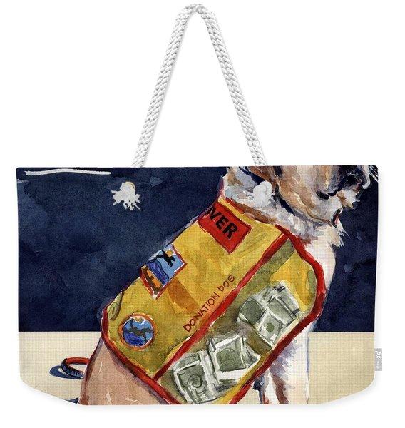Oliver Rocks The Vest Weekender Tote Bag