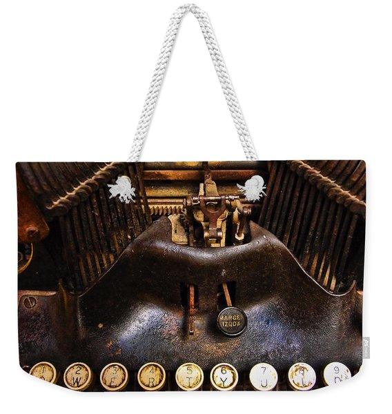 Weekender Tote Bag featuring the photograph Oliver by Skip Hunt