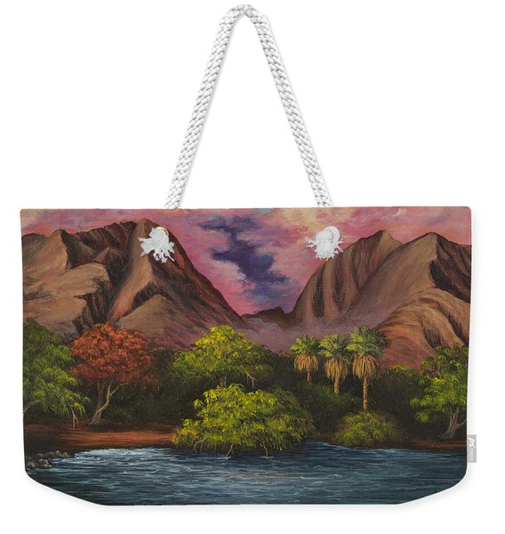 Olowalu Valley Weekender Tote Bag