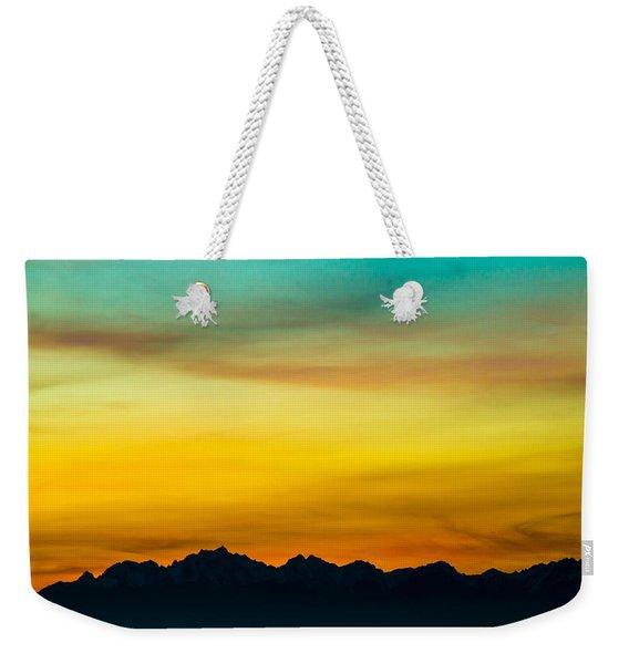 Olympics In Color Weekender Tote Bag