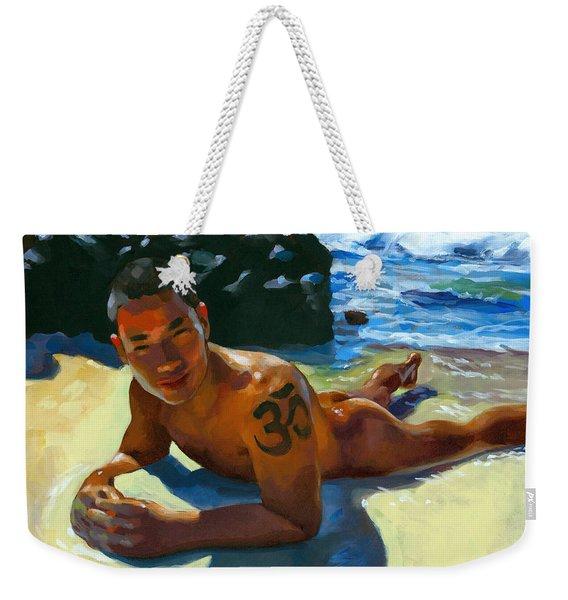 Om Tattoo Weekender Tote Bag