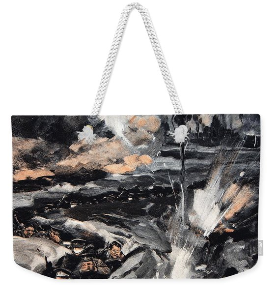 On An Occasion When The German Poison Weekender Tote Bag