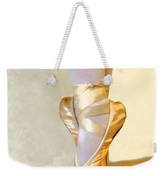 Ballet Toes On Point Weekender Tote Bag