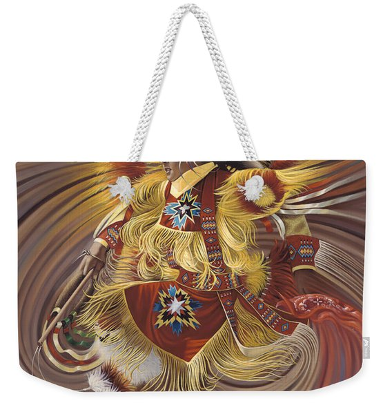 On Sacred Ground Series 4 Weekender Tote Bag