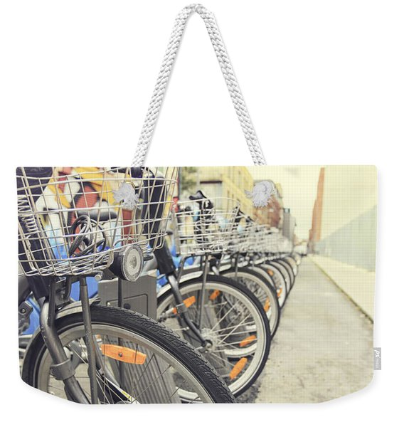On The Bright Side Weekender Tote Bag