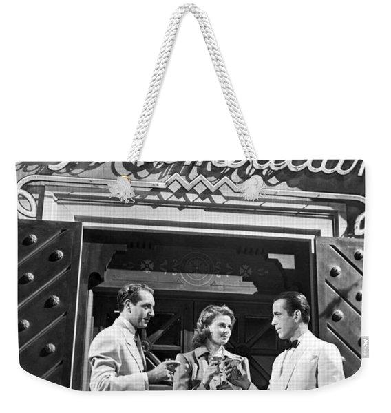 On The Casablanca Set Weekender Tote Bag