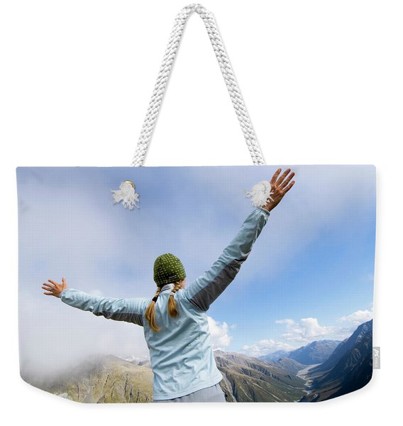 On The Fourth Day Of The Three Passes Weekender Tote Bag