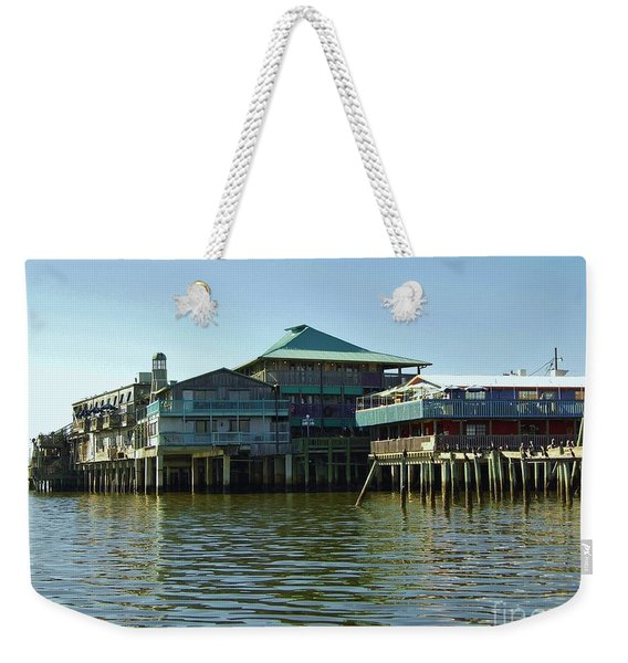 On The Gulf Weekender Tote Bag