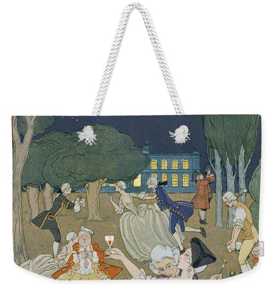 On The Lawn Weekender Tote Bag