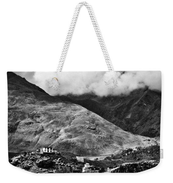 On The Mountainside Weekender Tote Bag