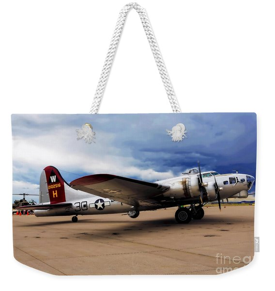 On The Ramp Weekender Tote Bag