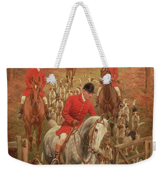 On The Scent, 1906 Weekender Tote Bag