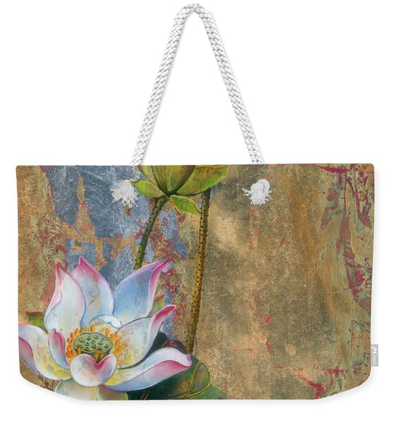 On The Silver Ray Weekender Tote Bag