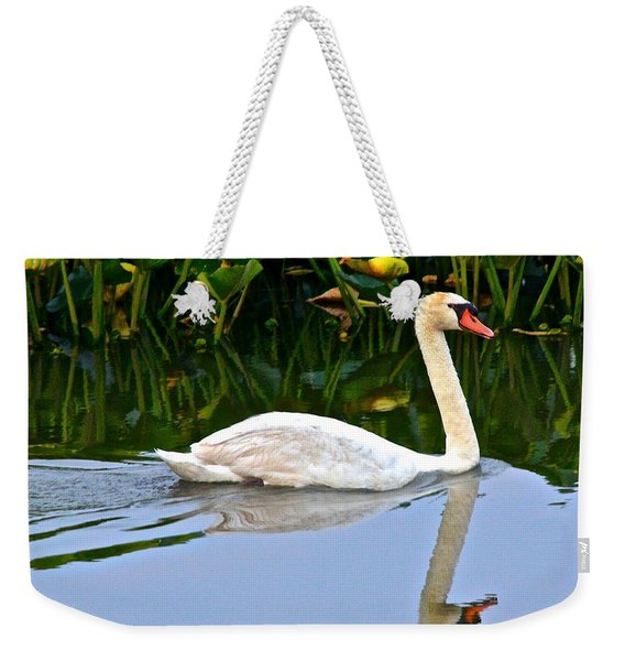 On The Swanny River Weekender Tote Bag