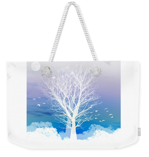 Once Upon A Moon Lit Night... Weekender Tote Bag