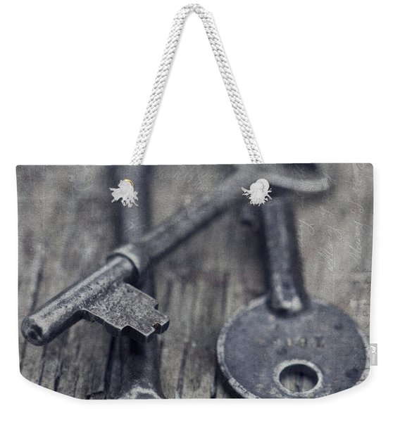 Once Upon A Time There Was A Lock Weekender Tote Bag