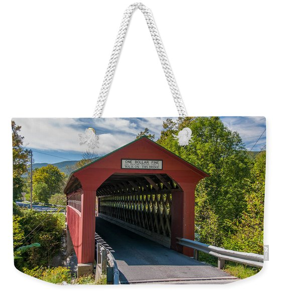 One Dollar Fine Weekender Tote Bag