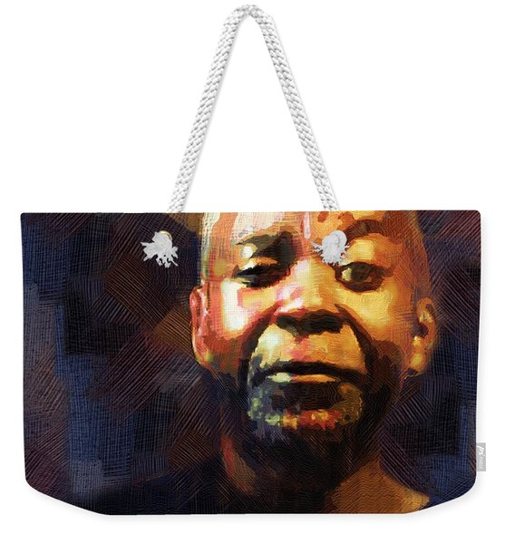 One Eye In The Mirror Weekender Tote Bag