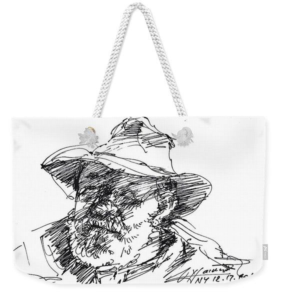 One Eyed Man Weekender Tote Bag