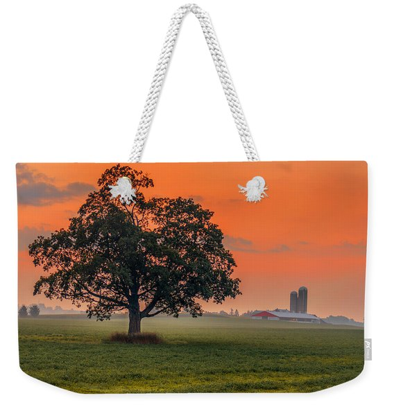 Weekender Tote Bag featuring the photograph One Fine Morning by Garvin Hunter