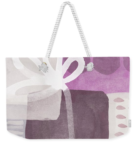 One Flower- Contemporary Painting Weekender Tote Bag