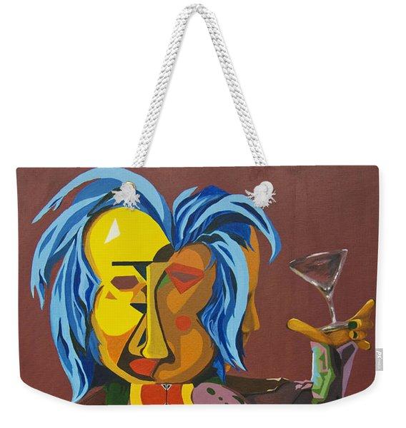 One More Time Weekender Tote Bag