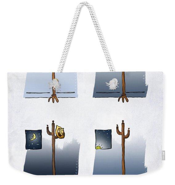 One Night Stand Weekender Tote Bag